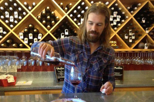 Jon Passow, Tasting Room Manager, McFadden Farms